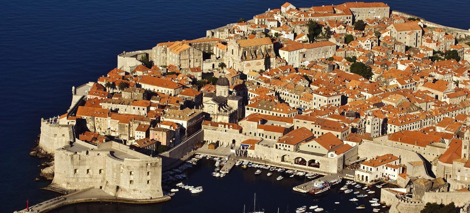 Big dubrovnik southern coast of croatia adriatic sea