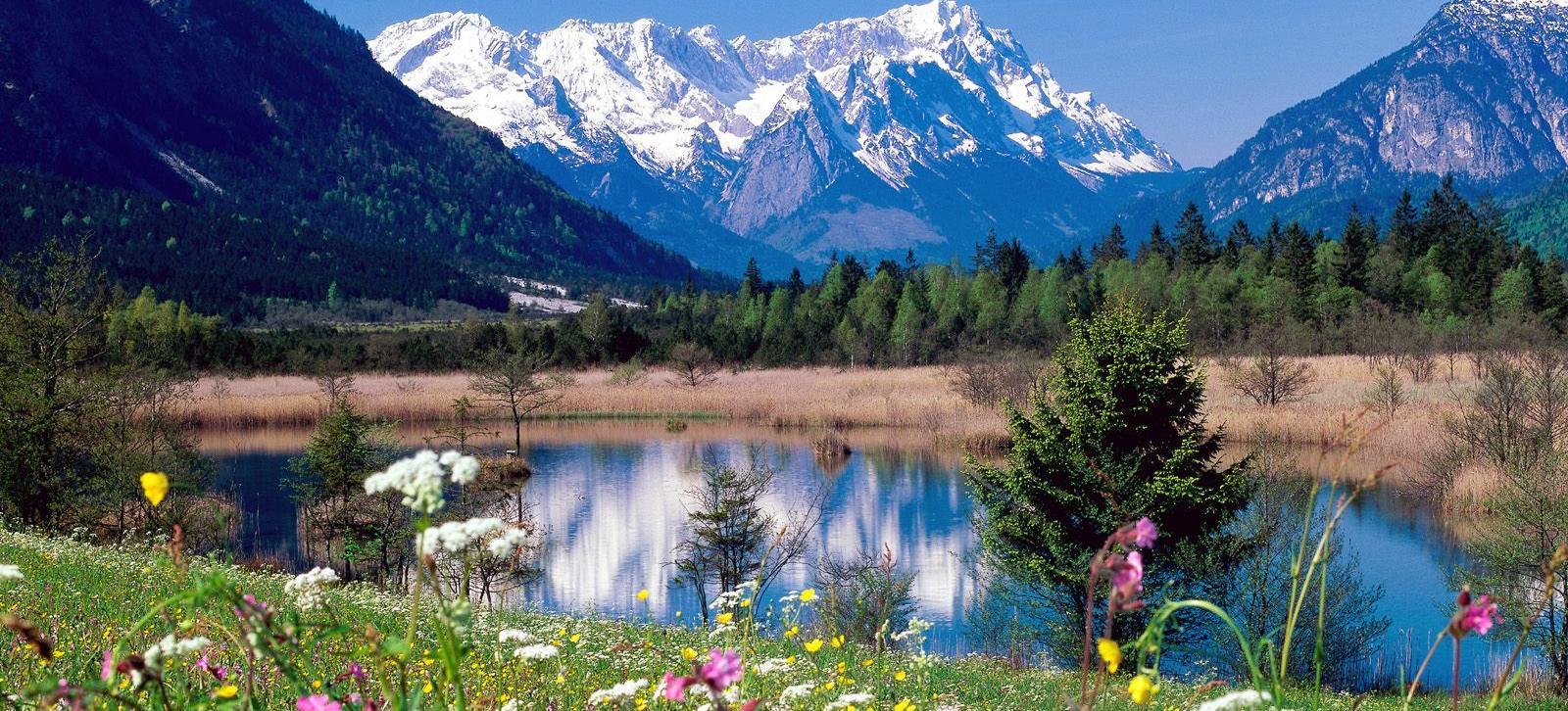 Big 1237043667 loisach river wetterstein mountains eschenlohe