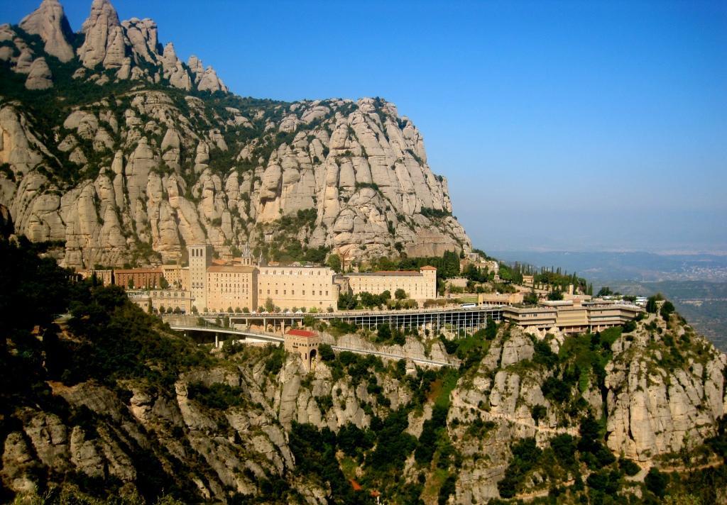 Big montserrat monasterio spain