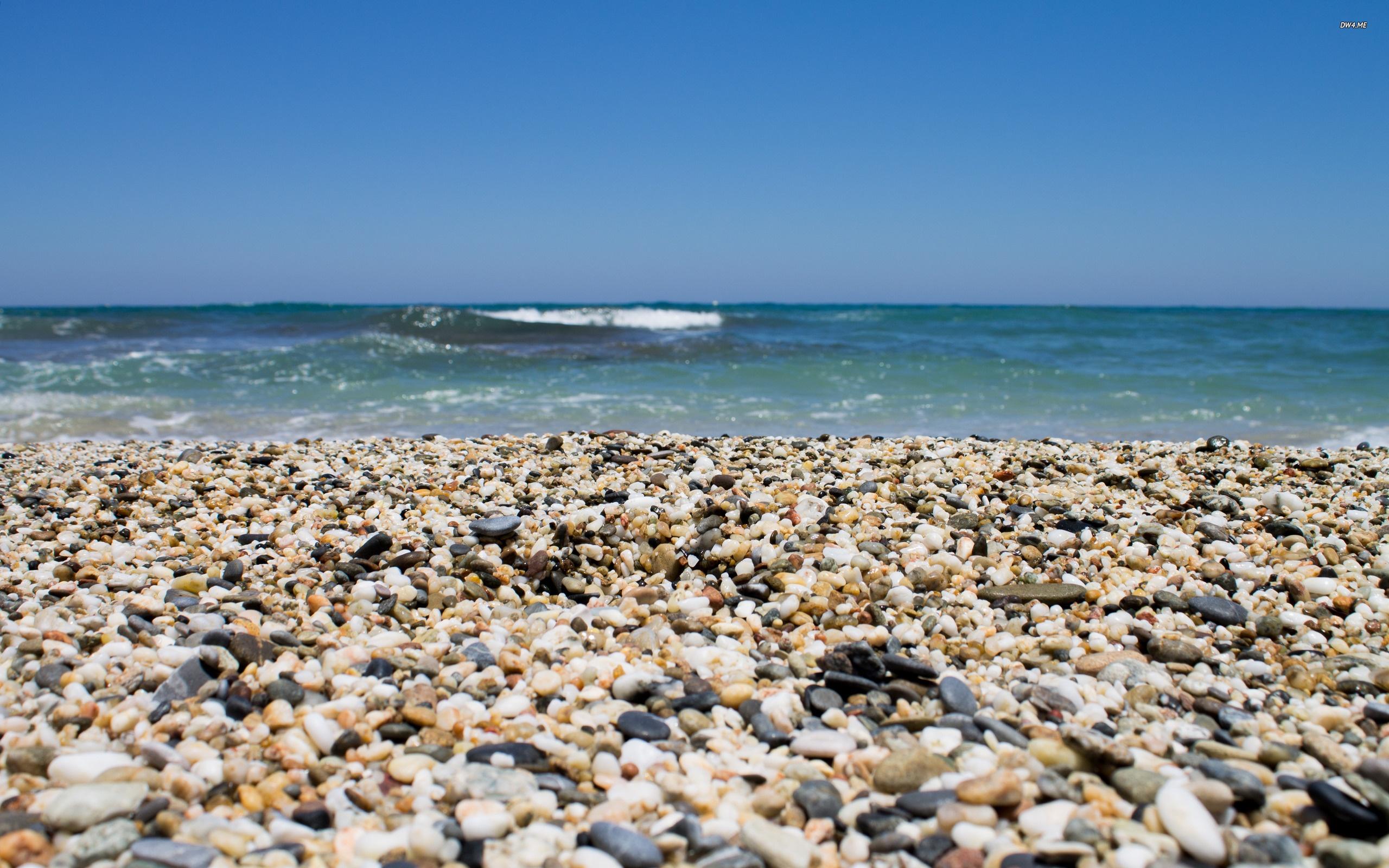 Big 2365 pebbles on the beach 2560x1600 beach wallpaper