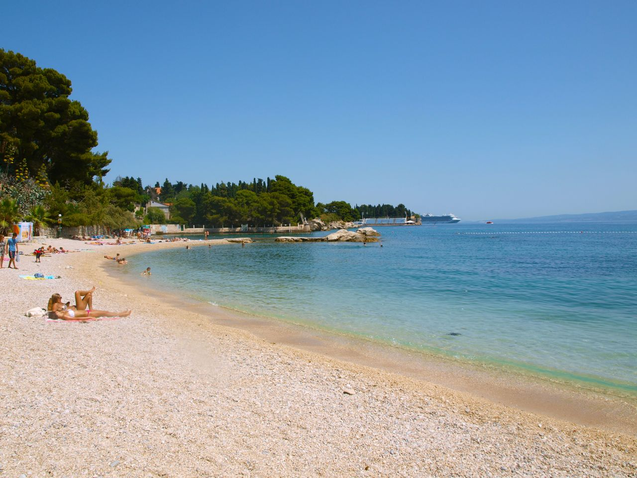 Big marjan beach split